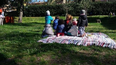 letture all'aperto nel nostro parco